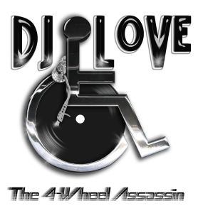 DJ LOVE LOGO 4wheel